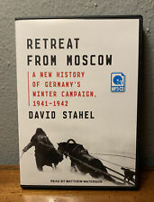 Retreat From Moscow: A New History Of Germany's Winter Campaign 1941-1942 -MP3CD
