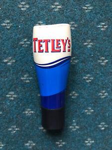 Tetleys Smooth Flow Beer Pump Tap Handle