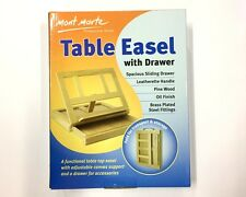 New Mont Marte Table Easel w Drawer Pine Wood Artist Easel Art Supply
