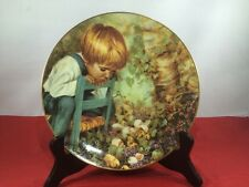 Michael's Miracle Collector Plate Real Children Series Nancy Turner Stratford