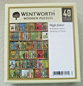 Wentworth Wooden Mini Jigsaw Puzzle - High Jinks (40 pieces)