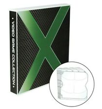 Xbox Themed Video Game Storage Case, High-Capacity Holds 80 Video Game Discs