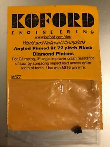 Koford 72 pitch 3 degree 9 tooth pinned pinion