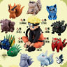 "10pcs/set Naruto Shippuden Uzumaki Tailed Beast Figure 2.8"" Toy New"