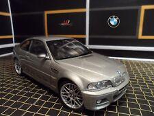 KYOSHO BMW M3 CSL E46 Coupe 1:18 Silver