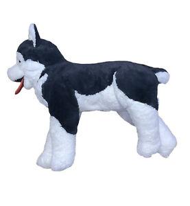 """*Large* Ikea Livlig SIBERIAN HUSKY Wolf Dog 30"""" Floppy Jumbo Plush Stuffed"""