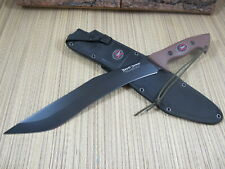 Outdoor Edge Knife Brush Demon Jerry Hossom Design Fixed Blade A Cutting Beast !