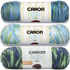 [BUY 10 GET 25% OFF] Caron Simply Soft Paints 141g/113g - 100% Acrylic Aran yarn