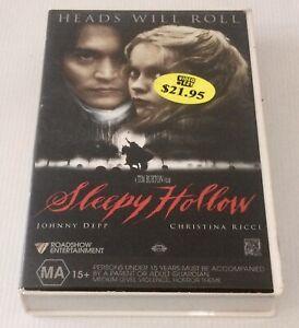 Sleepy Hollow VHS