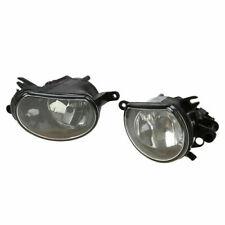 Pair Halogen Fog Light Lamp Assembly Fit Audi Q7 2010 2011 2012 2013 2014 2015