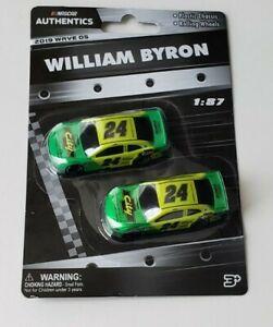 NASCAR Authentics William Byron 1:87 Diecast Vehicle, 2019 Wave 05