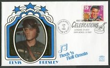 USA - 1993 'ELVIS - ROCK & ROLL GREAT' Benham First Day Cover [C3287]