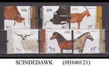 Portugal - 2020 Animals / Mammals / Goats / Sheep / Horse / Cattle 6V Mnh