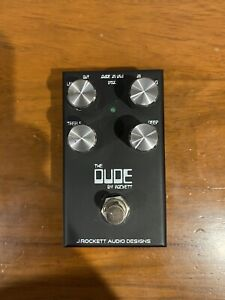 J Rockett The Dude V2 Overdrive Pedal