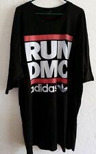 ADIDAS RUN DMC T-Shirt Mens 4XL Black NEW