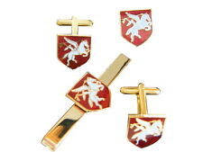 Airborne Pegasus Cufflinks, Badge, Tie Clip Military Gift Set