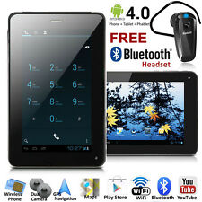 UNLOCKED! 7in LCD Phablet Smart Phone Tablet PC Android 4.0 - FREE Bluetooth NEW