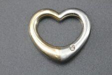 CHRIST Anhänger Herz Diamant Gold 750 Platin 950 1 Brillant ca. 0,02ct SI1 H