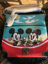 NWT Disney Dooney & Bourke Mickey Mouse & Friends Skyliner Crossbody Purse