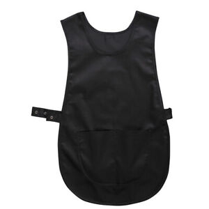 pocket tabard s843 portwest catering/cleaning /nursing black size small/medium