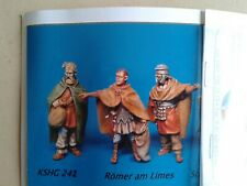 SOLDATINI Hecker & Goros  KSHG 242 ROMER AM LIMES ROMANI 4 PZ  SCALA 1:72 ROMANI