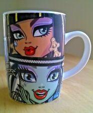 Monster High Mug Coffee Tea 2014 Mattel Park Avenue Cleo Frankie Clawdeen Dolls