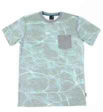 Nixon Mens Wilton Pocket Short Sleeve T-Shirt Mint M New