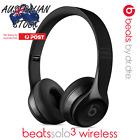 Beats By Dre Solo3 Wireless Headphones In Box - Black (Gloss)