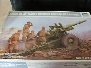 TRUMPETER - 1/35 = SOVIET ML-20 1152MM HOWITZER = WITH M-46 CARRIAGE - #02324
