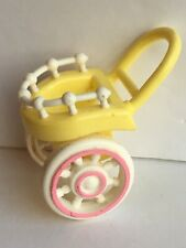 Vintage Fisher Price Smooshees Country Cuddlers Peggy Pony Cart or Stroller Only
