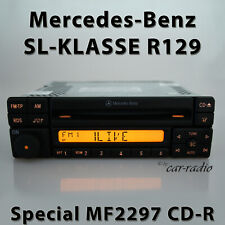 Original Mercedes Special MF2297 Cd-R R129 Car Radio Sl-Class W129 Special RDS