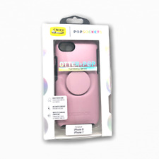 OtterBox + Pop Symmetry Case for iPhone 7 iPhone 8 iPhone SE 2nd Mauveolous Pink