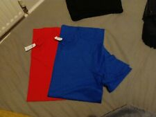Gildan T Shirt Red and Blue Small