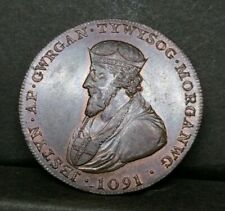Scotland Glamorganshire Half Penny Conder Token 1795 AUNC With Luster D&H 3B