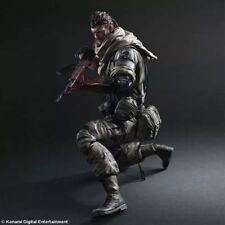 NEW Play Arts Kai Metal Gear Solid V The Phantom Pain Snake Action Figure Toys