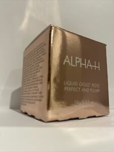 ALPHA-H Liquid Gold Rose Perfect & Lip Plump 15ml NEW PRODUCT LAUNCH New & Boxed