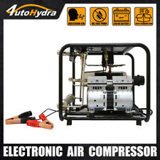 4utoHydria 12V Oil-Free Pump for Snorkeling Hookah Diving Air compressor 8bar