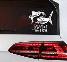 Fisch Hecht Aufkleber Angler Sticker Fischen go Fishing Auto Bus Camping Decal