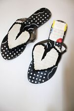 Vivienne Westwood X Melissa Black Slide Sandals Heart Detail UK 3 - P04