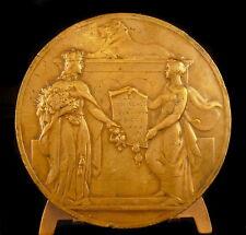 Médaille Les provinces réunis Belgique Belges LEX PROVINCIALIS 1836- 1936 Medal