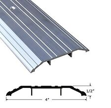 "CBW Aluminum Threshold 4"" Wide 1/2"" High- 48 Inch Length"