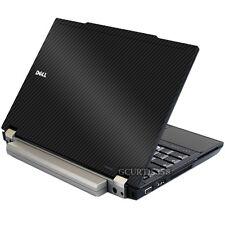 3D CARBON FIBER Vinyl Lid Skin Cover Decal fits Dell Latitude E4300 Laptop