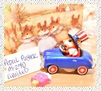 ❤️Wee Forest Folk M-270 Pedal Pusher Uncle Sam LIMITED USA 4th of July Car WFF❤️