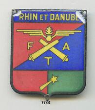 Insigne artillerie , Cdt. des FTA. / 1 ére. Armée