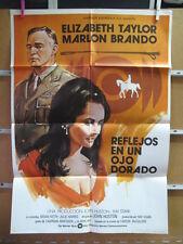 2900     REFLEJOS EN UN OJO DORADO ELIZABETH TAYLOR MARLON BRANDO