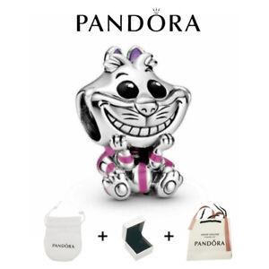 Pandora Genuine Disney Alice in Wonderland Cheshire Cat 798850C01 ALE/BAG+BOX
