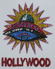 Sequin Patch: Hollywood UFO