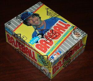 1989 Fleer Baseball Error Wax Box - BBCE Certified - FASC Code: 90092
