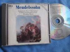 Mendelssohn Symphonie No.4 CD London Philharmonic Orchestra (Orchestra) CD Album
