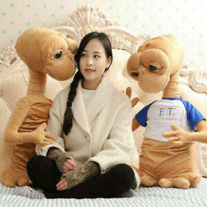 E.T. The Extra-Terrestrial Toy Big Plush Toy Stuffed Doll Kid Gift Pillow Alien